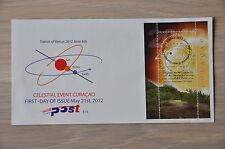 CURACAO 2012  FDC 018 ++ TRANSIT OF VENUS ZONSVERDUISTERING  ++  MNH POSTFRIS **