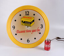 KODAK CLOCK, ABOUT 20 INCHES ACROSS, AC POWERED, MISSING THE HANDS/cks/215948