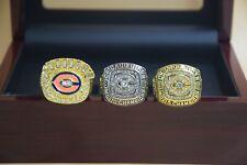 3 Pcs 1963 1985 1985 Chicago Bears Championship Ring //