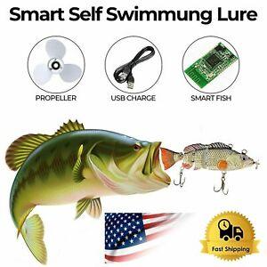 UFISH Fishing Bass Lures Muskie Baits Electric Animated Pike Fishing Lure