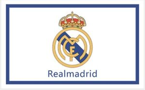Real Madrid Flag Banner 3x5 ft Spain Soccer White New Futbol Club Spanish