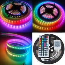 Wasserdicht 5M 5050 RGB 300LED Streifen Band Lichterkette Licht IR Fernbedienung