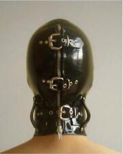 Latex Mask With Eyeshade Halloween Latex  Unisex Hood Gummi 0.4mm for Catsuit