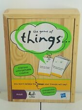 Parker Brothers The Game of Things Word Board Game -  Wood Case - Adult B