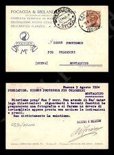 Faenza - Fabbrica maioliche d'arte Focaccia e Melandri 9.4.1924