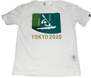 Tokyo 2020 Olympics Sports Asics Shirt Canoe Kayak Boat T-shirt Size XS