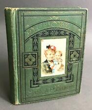 Small Victorian Decoupage Scrapbook Anonymous Circa 1876