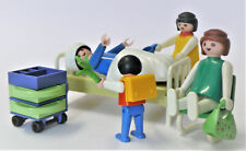 playmobil ® - Krankenhaus Klinik Bett Schwester Mutter Kind Schrank