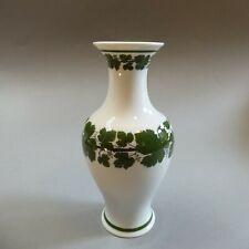Original Meissen Porzellan Vase Balustervase Weinlaub Pfeifferzeit 22 cm um 1930