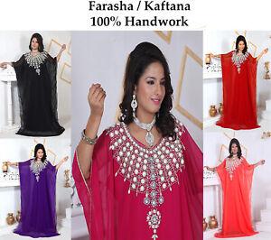 Dubai Style Women Kaftan Caftan Farasha Abaya Maxi Dress Kimono Beach Cover Up E