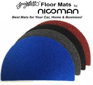 Half Moon Door Mat Dirt-Trapper Easy-Clean Jet-Washable Outdoor NICOMAN® 45x72cm