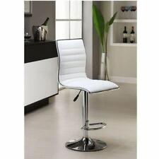 TOP!2*Tabouret de bar Chaise fauteuil réglable en Hauteur 60 cm- 81 cm Gris