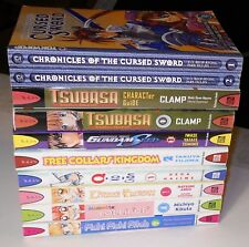 MANGA LOT 10 Tsubasa Character Guide Gundam Pichi Lollipop Q Cursed Sword