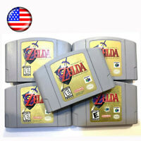 USA The Legend of Zelda Ocarina of Time Video Game For Nintendo 64 N64 NEW