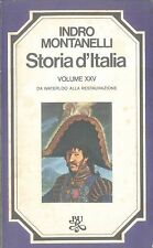 STORIA D'ITALIA VOL. XXV - MONTANELLI GERVASO - BUR