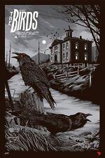 The Birds Movie Poster Print Mondocon Art Mondo ken taylor hitchcock variant