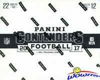 2017 Panini Contenders Football MASSIVE Sealed Jumbo Fat Pack BOX-264 Cards