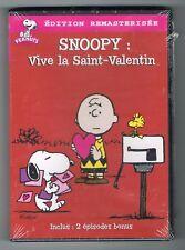 SNOOPY : VIVE LA SAINT-VALENTIN - DVD - NEUF NEW NEU