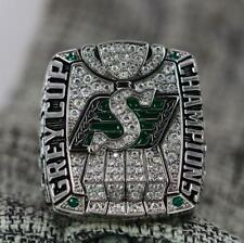 Year 2013 Saskatchewan Roughriders Grey Cup Championship Copper Ring 8-14Size