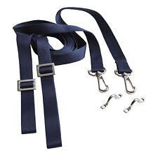 Coppia tenditori a nastro blu per tendalino, cappottina, barca, gommone, 2mt