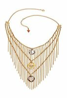 Guess UBN21225 Necklace Ladies in color: Gold/Crystal New