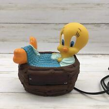 Westclox Looney Tunes Tweety Bird Digital Alarm Clock Warner Brothers Character