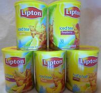 LIPTON INSTANT POWDERED ICED TEA MIX ~ FLAVOR CHOICES *  PICK ONE