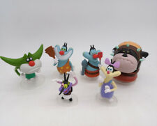 Set of 6 Figure Oggy and the Cockroaches toy dolls oggy olivia joey collection