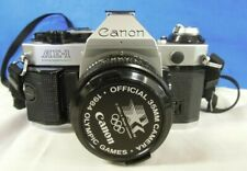 Canon Camera 1984 Olympic AE 1  Games 35mm Carrying Case Manuel