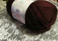 NEW LION BRAND POUND OF LOVE Claret Red Medium Yarn 454g Acrylic 550114 Turkey