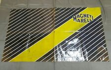 Magneti Marelli towel fender cloth advertising sign italian garage mechanic shop