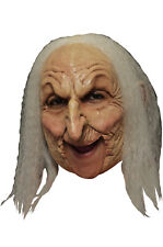 Brand New Old Witch Deluxe Chinless Adult Mask