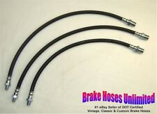 BRAKE HOSE SET Dodge Truck 3/4 Ton, B1C, B2C, B3C, 1948 1949 1950 1951 1952