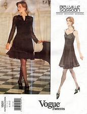 VOGUE Designer Original Dress & Jacket Bellville Sassoon Pattern 1501 8-12 UNCUT