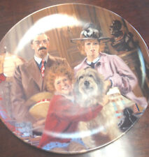 """""""Annie"""" Plate by Knowles, Edwin. Limited edition 1986"""