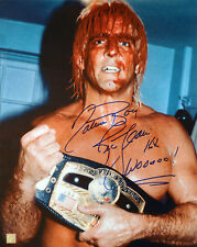"Nature Boy Ric Flair Autographed Signed 16x20 Photo ""Covered In Blood"" Asi Proof"