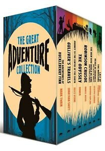 The Great Adventure Collection 8 Books Box Collection Set with a Journal Inside