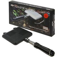 Sandwich Toaster Black Edition Toastie Maker für Gaskocher, NGT Sandwichmaker