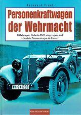 Personenkraftwagen Wehrmacht  Kübelwagen Einheits-PKW Technik Taktik Einsatz Tec