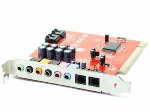 SpeedLink SL-8871-SRD 7.1 PCI Sound-Card PC Tos-Link Chipset CMI8768/PCI-8ch