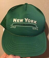 New York Bakery And Delicatessen Green Mesh Snapback Trucker Hat Streetwear