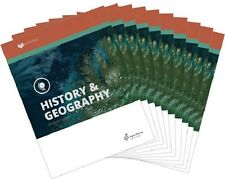 Alpha Omega Lifepac History & Geography Grade 9 Workbooks Set * Homeschool -NEW!