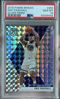 2019 Panini Mosaic Prizm #250 Eric Paschall Warriors RC Rookie PSA 10 GEM MINT