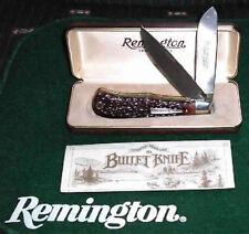 Original 1982 Remington BULLET knife. Rare Hard to find at this Price FREE SHIP