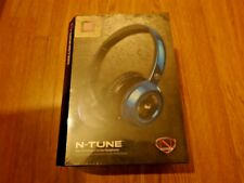 Monster NCredible NTune On-Ear Headphones - Cobalt Blue / Brand New