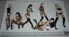 2011 WICKED Girls Poster STORMY DANIELS Jessica Drake LUPE FUENTES Kaylani Lei