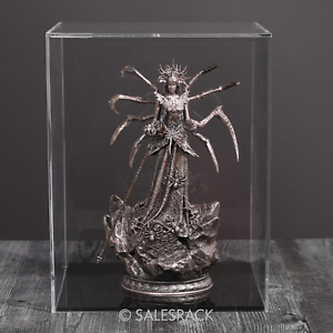 """Clear Acrylic Display Case 12"""" H x 9.5"""" W x 9.5"""" D Showcase Art Lego figure Doll"""