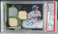 2016 Topps Triple Threads RC Autograph Corey Seager PSA 8 #/75