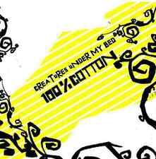 CD 100% COTTON CREATURES UNDER MY BED Musik Pop Punk Skate Austria Rise Österre