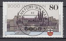 BRD 1989 Mi. Nr. 1402 gestempelt FRANKFURT AM MAIN , mit Gummi TOP! (15628)